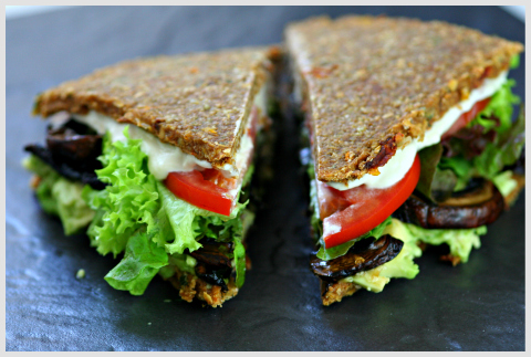 Raw Food Recipe Sandwich Plant Based Academy